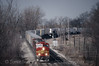 Photo 0043<br /> Atchison, Topeka & Santa Fe; Edelstein, Illinois<br /> April 4, 1993