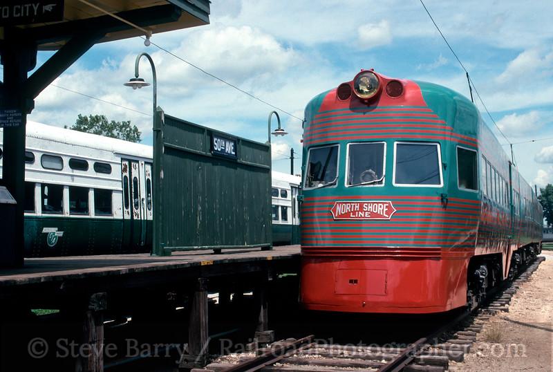 Photo 2049<br /> Illinois Railway Museum; Union, Illinois<br /> July 21, 1993