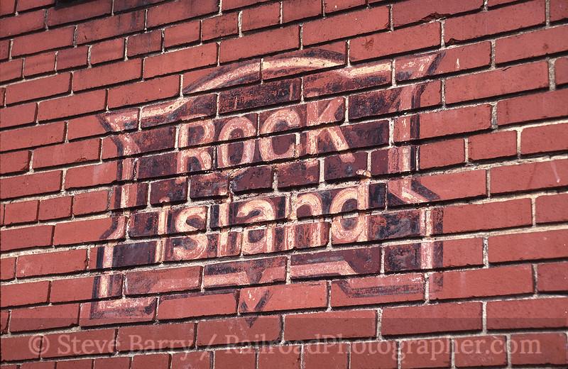 Photo 0458<br /> Chicago, Rock Island & Pacific; Atlantic, Iowa<br /> March 28, 1993