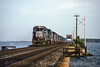Photo 1719<br /> Conrail; Sandusky Bay, Danbury, Ohio<br /> July 19, 1993