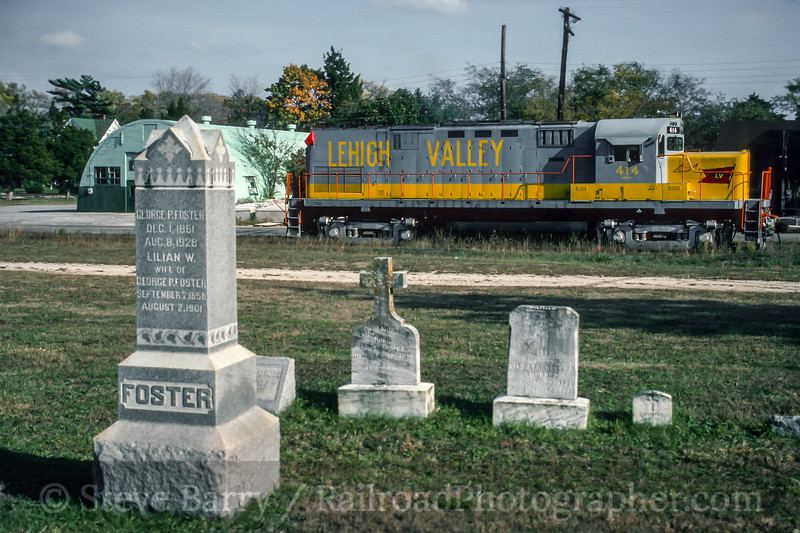 Photo 4871<br /> Southern Railroad of New Jersey<br /> Cape May Court House, New Jersey<br /> October 1993