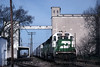 Photo 0067<br /> Burlington Northern; Springfield, Missouri<br /> April 10, 1993