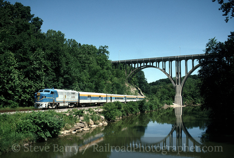 Photo 0227<br /> Cuyahoga Valley Scenic; Brecksville, Ohio<br /> July 17, 1993