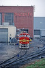 Photo 0040<br /> Atchison, Topeka & Santa Fe; Argentine Yard, Argentine, Kansas<br /> April 7, 1993