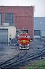 Photo 0040<br /> Atchison, Topeka & Santa Fe; Argentine Yard, Argentine, Kansas<br /> April 7, 1993