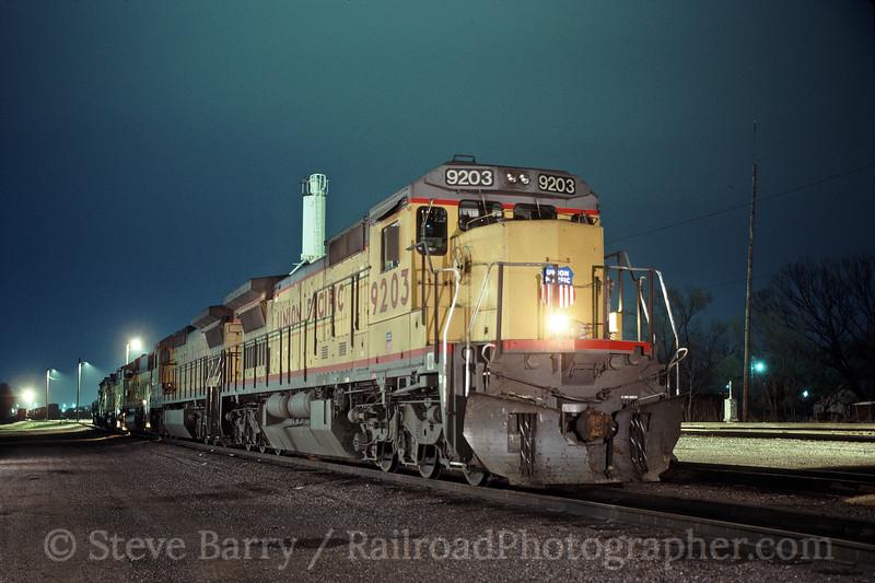 Union Pacific; Muskogee OK; 4/8/93