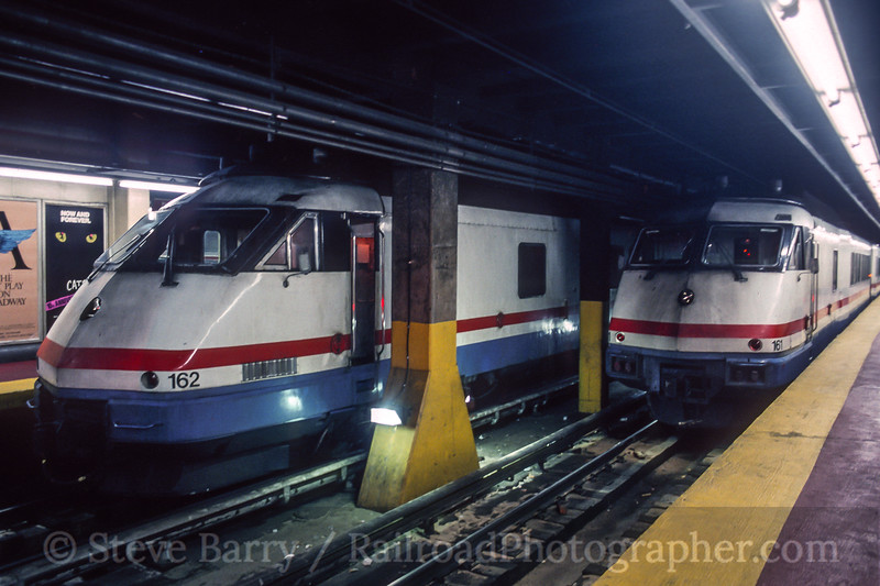 Photo 5205<br /> Amtrak<br /> Pennsylvania Station, Manhattan, New York<br /> December 1993