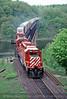 Photo 0160<br /> CP Rail; Mud Lake, Perth, Ontario<br /> July 4, 1993