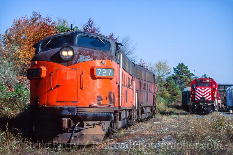 Southern Railroad of New Jersey; Winslow Junction NJ; 10/28/93