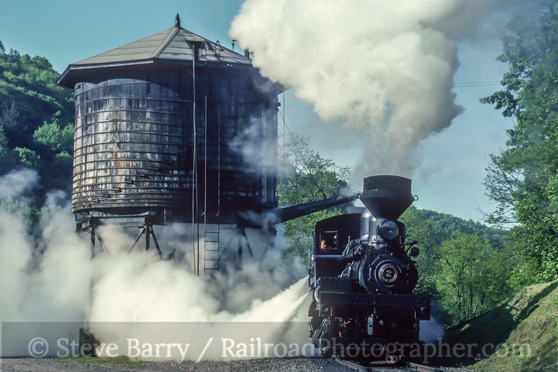 Photo 5020<br /> Cass Scenic<br /> Cass, West Virginia<br /> May 1993