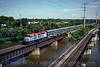 Photo 0308<br /> Metra; Fox River Bridge, Elgin, Illinois<br /> July 21, 1993