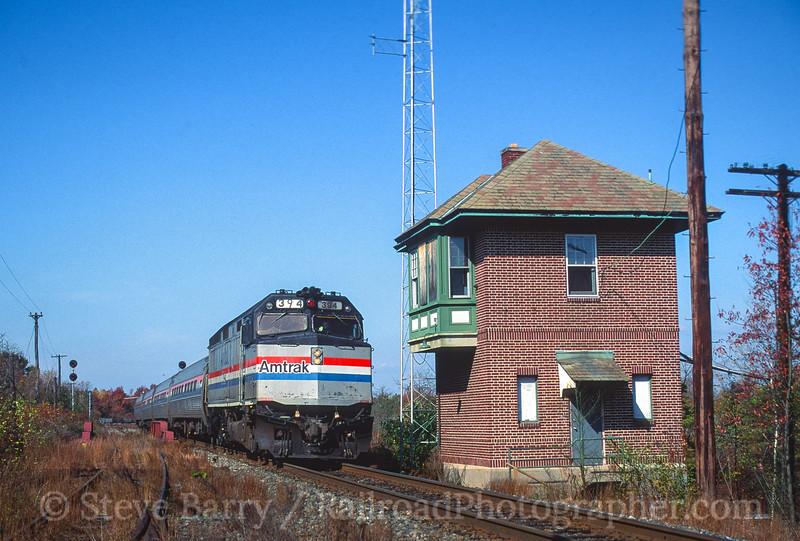 Amtrak; Winslow Junction NJ; 10/28/93