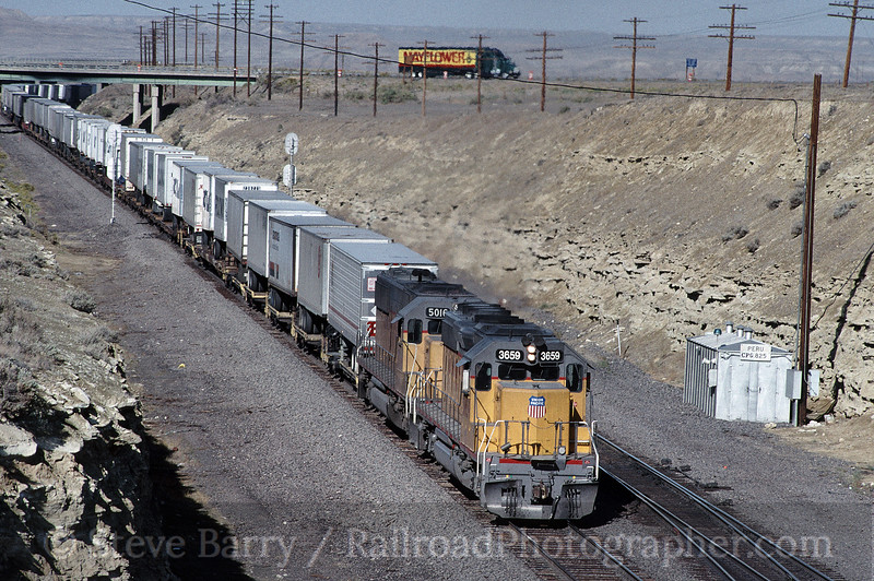 Photo 1540<br /> Union Pacific; Peru, Wyoming<br /> September 14, 1994