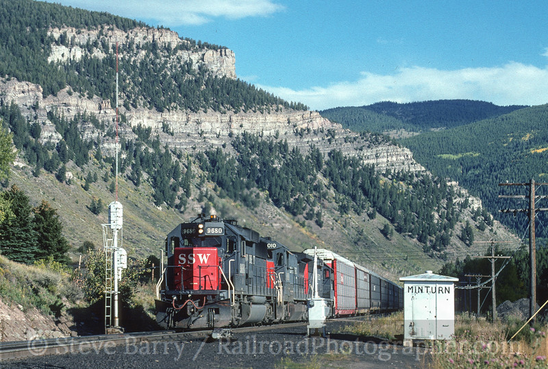 Photo 5089<br /> Southern Pacific<br /> Minturn, Colorado<br /> September 1994