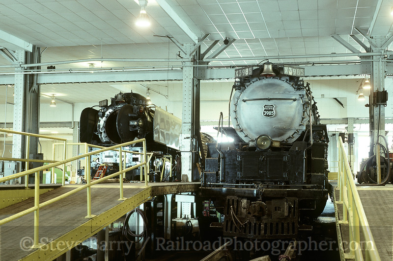 Photo 1670<br /> Union Pacific Steam Shop; Cheyenne, Wyoming<br /> September 1994