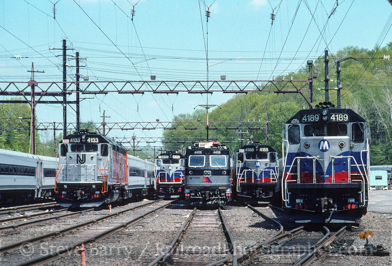 Photo 3525<br /> New Jersey Transit; Dover, New Jersey<br /> May 7, 1994