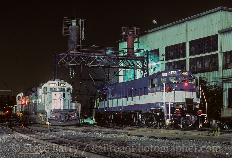 Photo 3597<br /> New Jersey Transit; Hoboken, New Jersey<br /> August 27, 1994