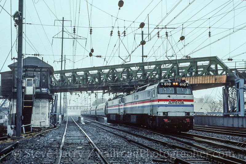 Amtrak; Frankford Junction PA; 12/1994