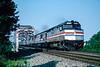 Photo 5473<br /> Amtrak<br /> Woodbridge, Virginia<br /> June 1994