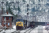 Photo 1312<br /> CSX Transportation; Alleghany, Virginia<br /> February 19, 1996