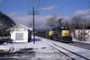 Photo 1069<br /> CSX Transportation; Alderson, West Virginia<br /> February 18, 1996
