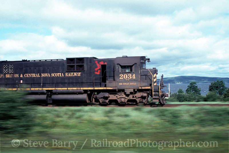 Photo 0103<br /> Cape Breton & Central Nova Scotia; Christmas Island, Nova Scotia<br /> August 30, 1996