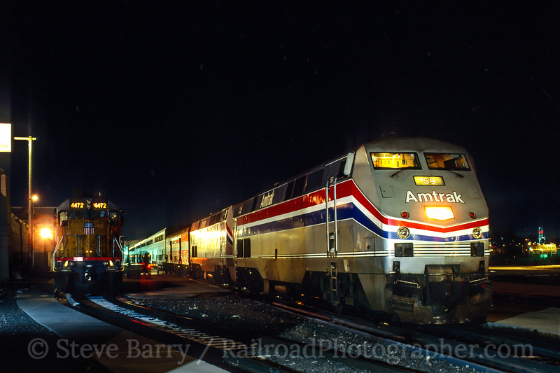 Amtrak; Denver CO; 12/1998