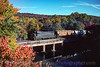 Photo 4159<br /> Reading, Blue Mountain & Northern; Auburn, Pennsylvania<br /> October 1999