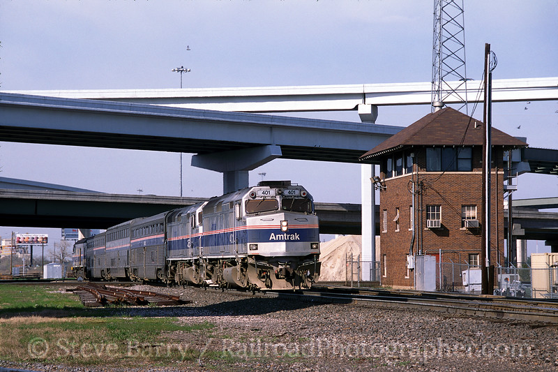 Photo 0031<br /> Amtrak; Tower 55, Fort Worth, Texas<br /> March 2001