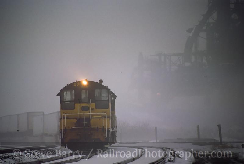 Photo 0439<br /> Lehigh Valley Rail Management; Bethlehem, Pennsylvania<br /> March 2001