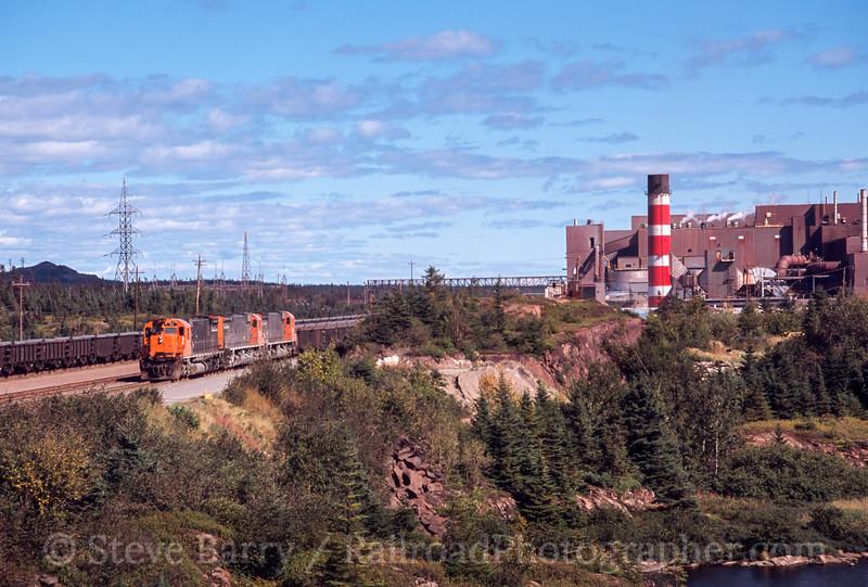 Photo 2421<br /> Quebec Cartier Mining; Port Cartier, Quebec<br /> September 2001