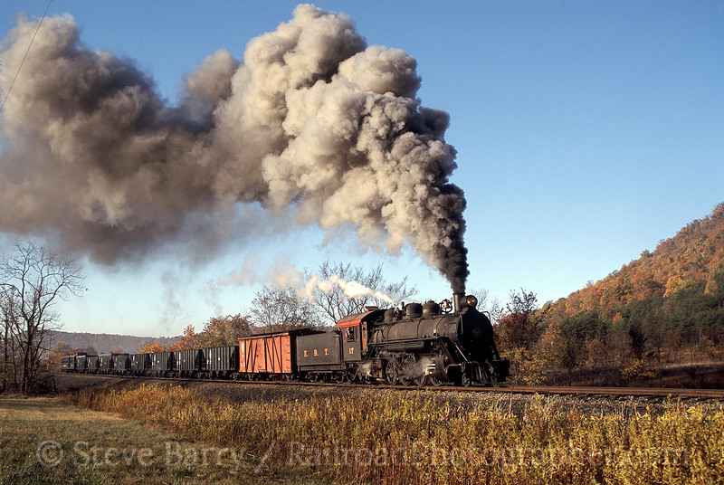 Photo 0257<br /> East Broad Top; Orbisonia, Pennsylvania<br /> October 2001