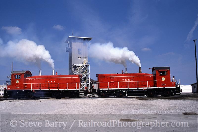 Photo 0517<br /> Terminal Railroad Association of St. Louis; Madison, Illinois<br /> June 2001