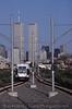 Photo 1431<br /> Hudson Bergen Light Rail (NJ Transit); Jersey Avenue, Jersey City, New Jersey<br /> August 26, 2001