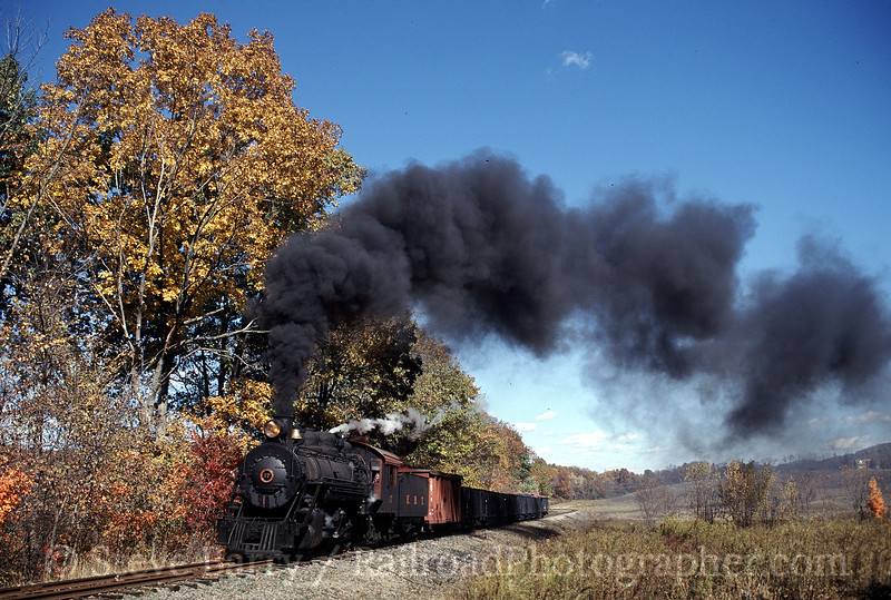 Photo 0667<br /> East Broad Top; Shirleysburg, Pennsylvania<br /> October 2001