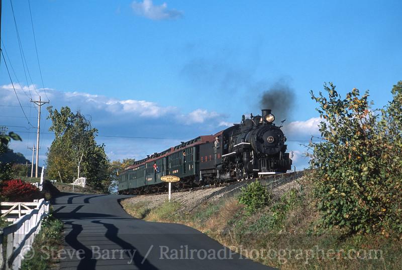Photo 3540<br /> East Broad Top; Orbisonia, Pennsylvania<br /> October 2001
