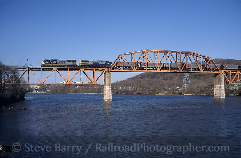 Photo 0619<br /> CSX Transportation; Knoxville, Tennessee<br /> March 2001