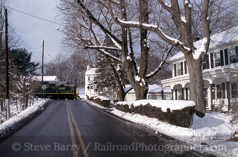 Photo 0449<br /> Reading, Blue Mountain & Northern; West Cressona, Pennsylvania<br /> January 2002
