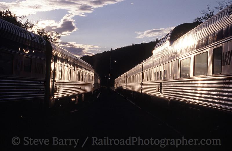 Photo 1441<br /> VIA Rail Canada; Matapedia, Quebec<br /> July 2002