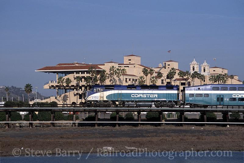 Photo 0700<br /> Coaster; Del Mar, California<br /> March 2002