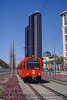 Photo 0464<br /> San Diego Metropolitan Transit System; Convention Center, San Diego, California<br /> March 2002