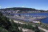 Photo 1248<br /> VIA Rail Canada; Gaspe, Quebec<br /> July 2002