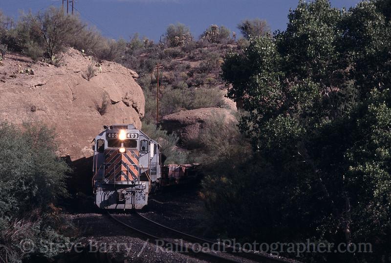 Photo 0829<br /> Copper Basin; Kearny, Arizona<br /> August 2002