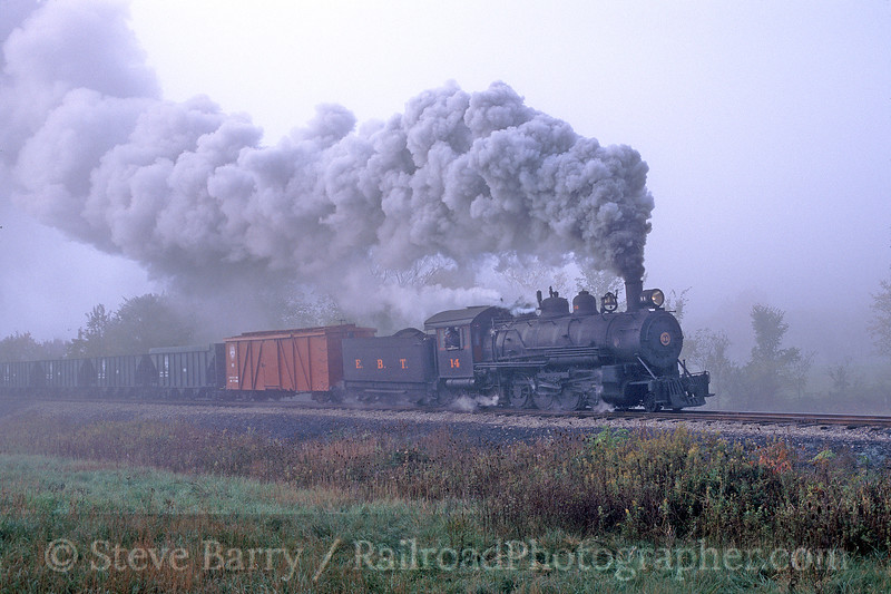 Photo 0258<br /> East Broad Top; Orbisonia, Pennsylvania<br /> October 2002