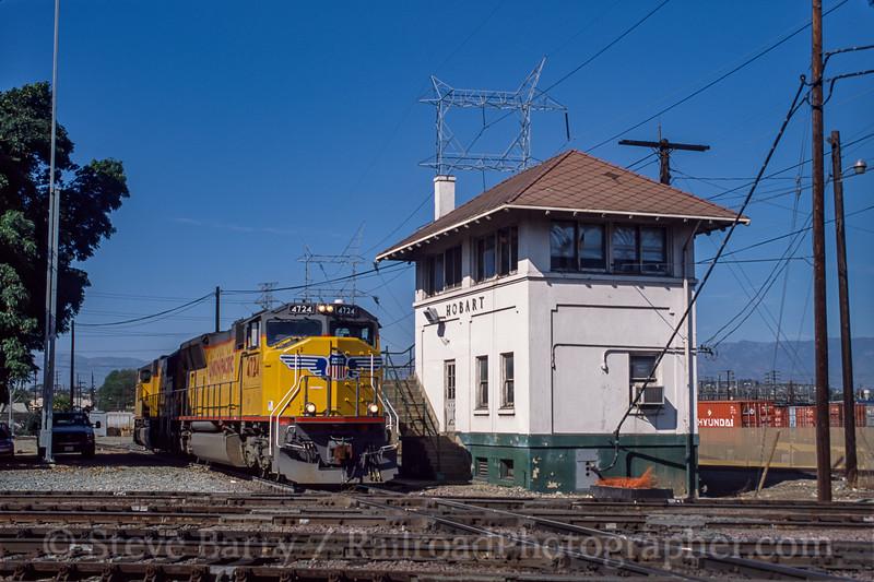 Union Pacific; Hobart CA; 3/2002