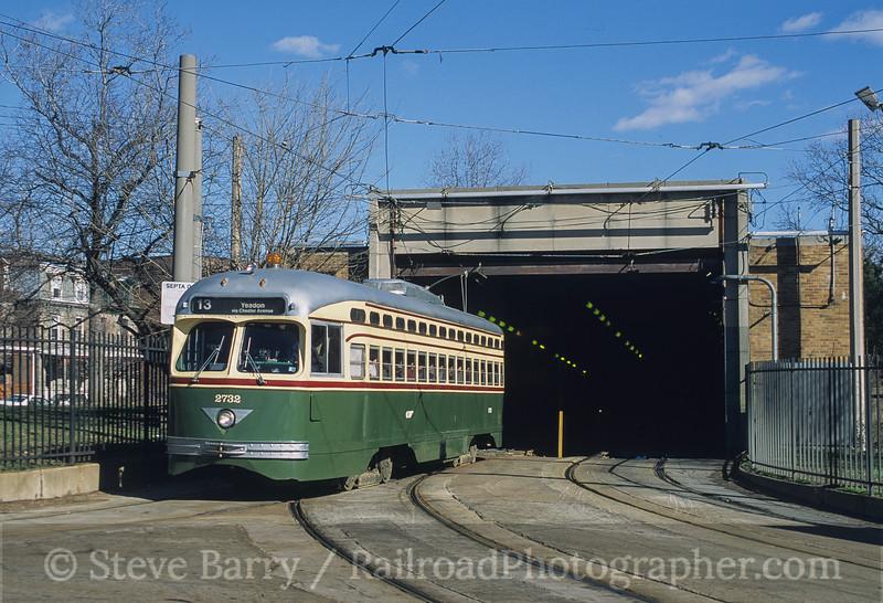 Photo 4175<br /> Southeastern Pennsylvania Transportation Authority; 40th Street Portal, Philadelphia, Pennsylvania<br /> February 2002