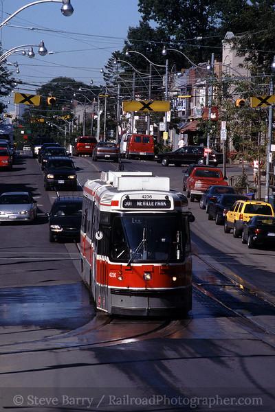 Photo 0520<br /> Toronto Transit Commission; Neville Park, Toronto, Ontario<br /> September 2003