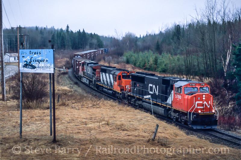 Canadian National; Chambord QC; 5/2003