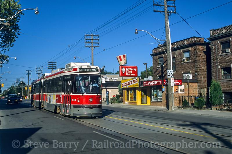 TTC; Toronto ON; 9/2003