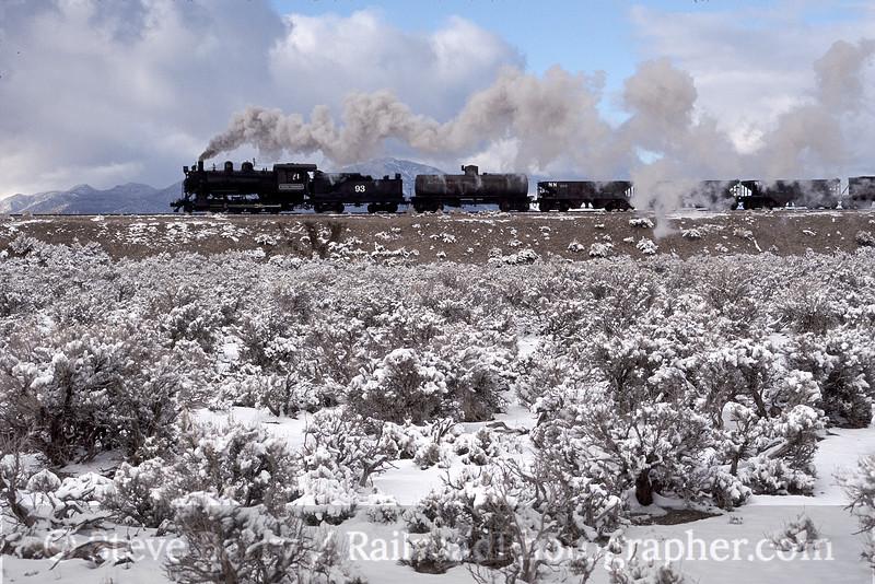 Photo 0387<br /> Nevada Northern; Ely, Nevada<br /> February 2003